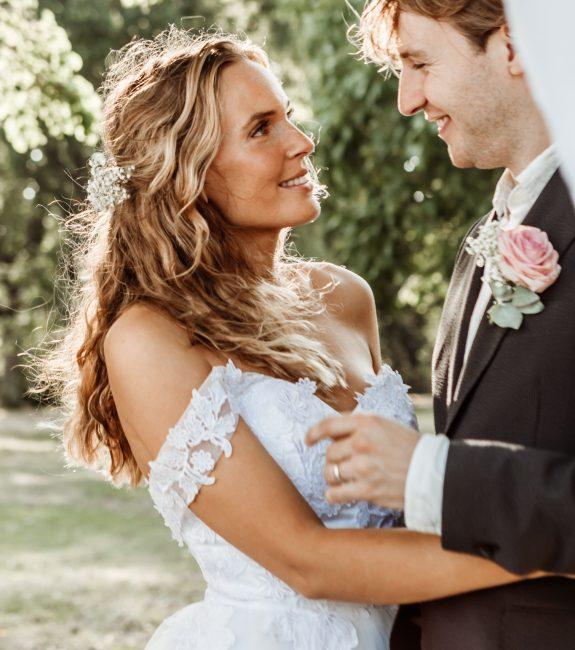 brudpar gotland drömbröllop